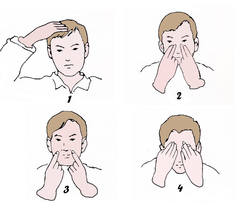 Traitement du Rhume par l'automassage